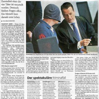 Zeitungsbericht der Berliner Morgenpost zum Urteil auf tödlichen Raub